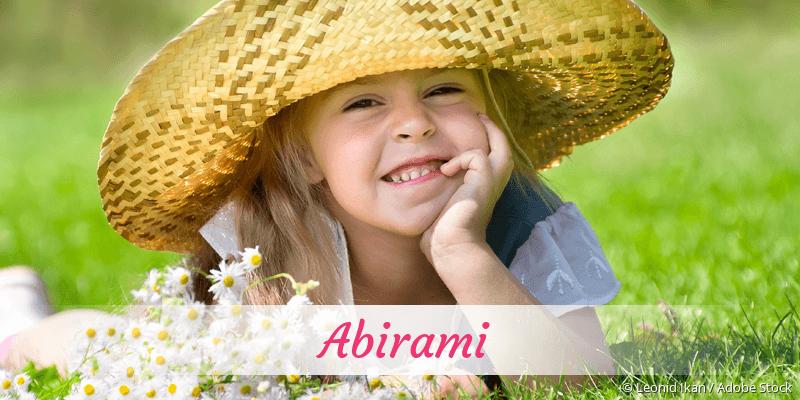 Name Abirami als Bild