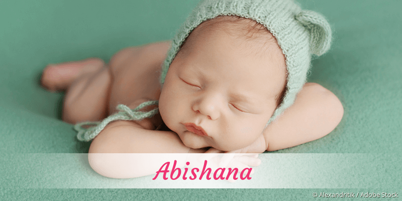 Name Abishana als Bild