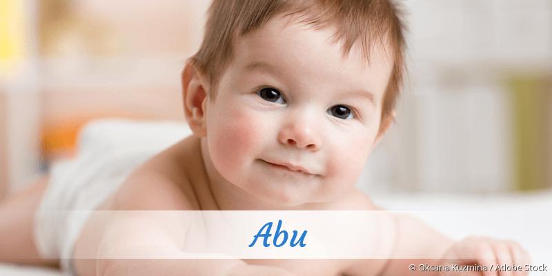 Name Abu als Bild