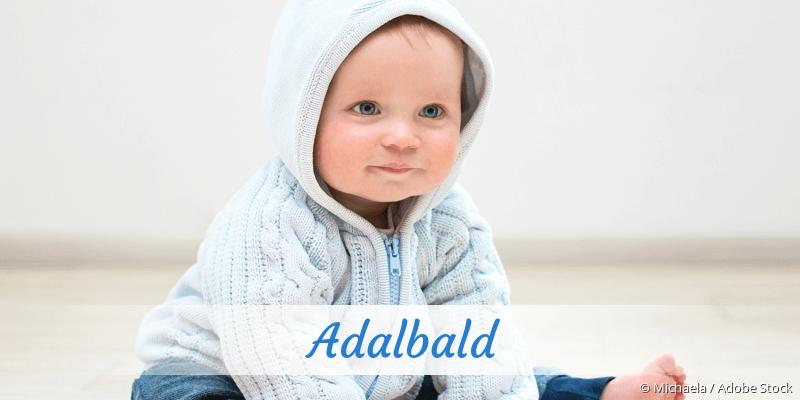Name Adalbald als Bild