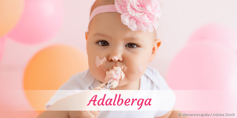 Name Adalberga als Bild