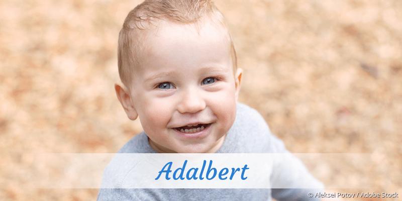 Name Adalbert als Bild