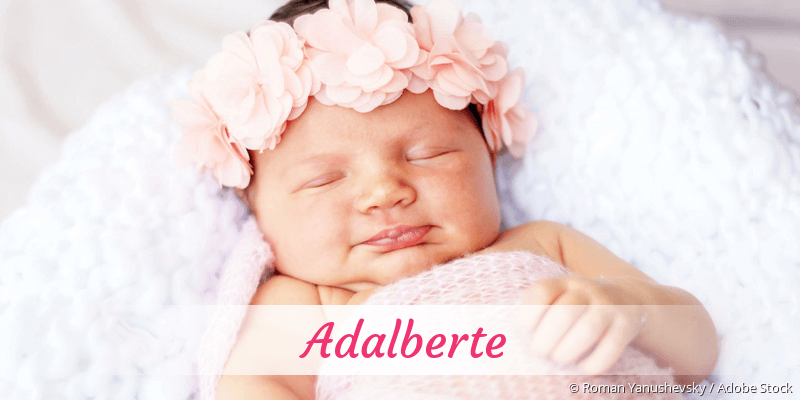 Name Adalberte als Bild