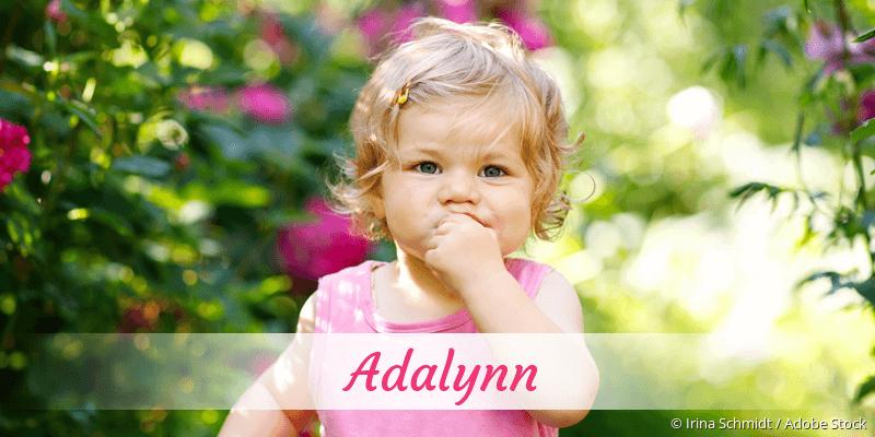 Name Adalynn als Bild