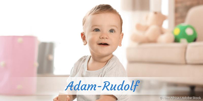 Name Adam-Rudolf als Bild