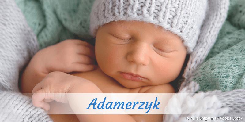 Name Adamerzyk als Bild