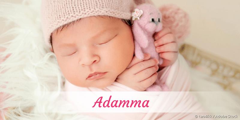 Name Adamma als Bild