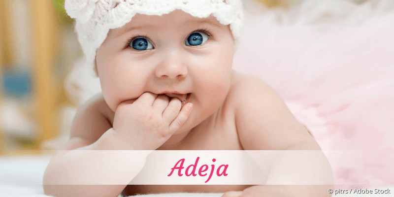 Name Adeja als Bild
