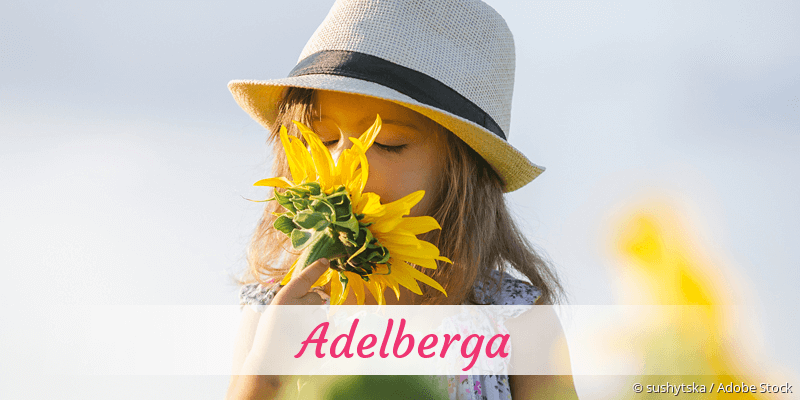 Name Adelberga als Bild