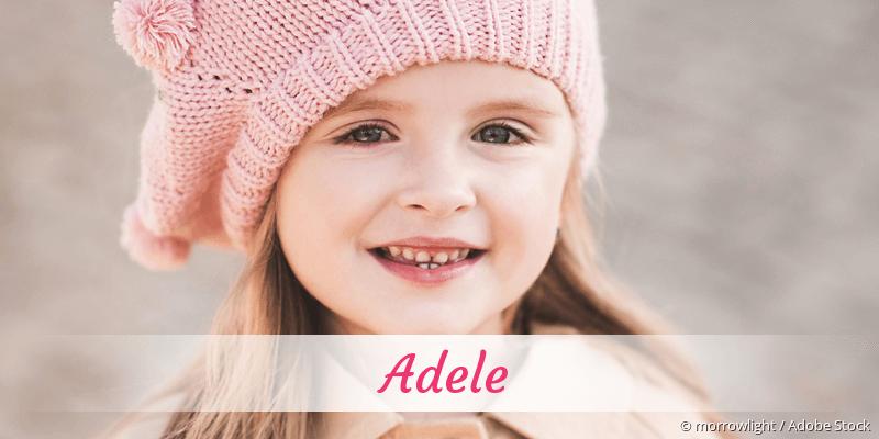 Name Adele als Bild