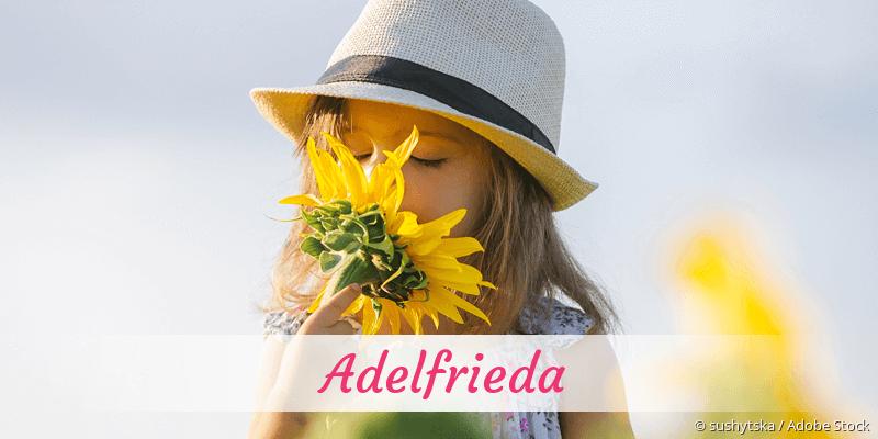 Name Adelfrieda als Bild
