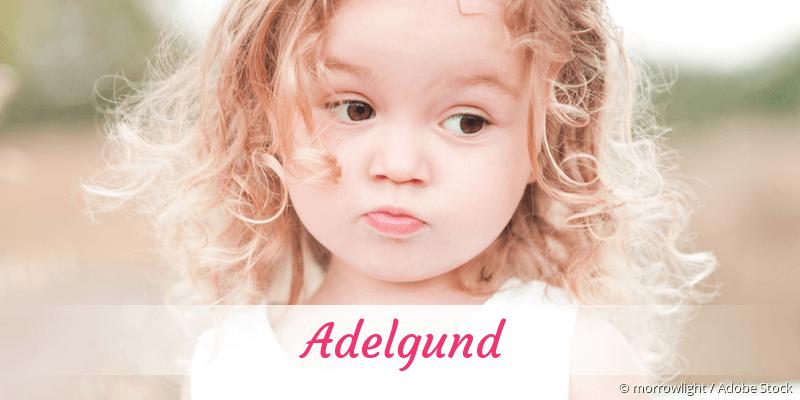 Name Adelgund als Bild