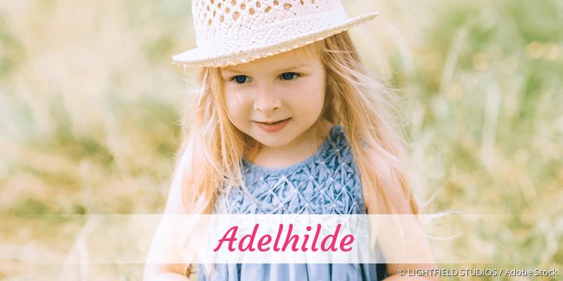 Name Adelhilde als Bild