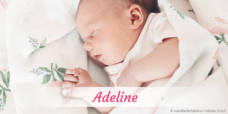 Name Adeline als Bild