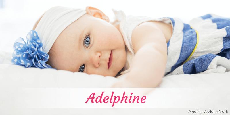 Name Adelphine als Bild