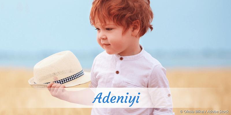 Name Adeniyi als Bild