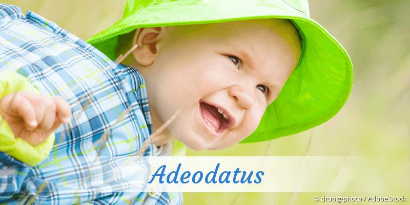 Name Adeodatus als Bild