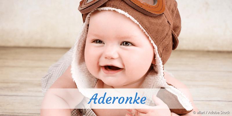 Name Aderonke als Bild