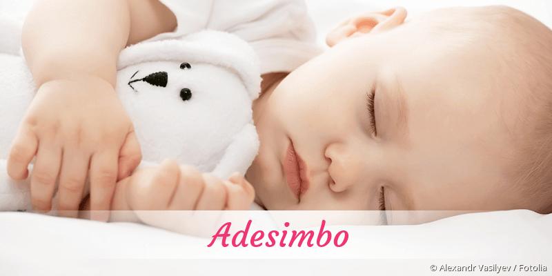 Name Adesimbo als Bild