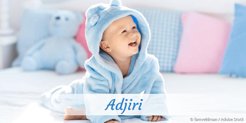 Name Adjiri als Bild