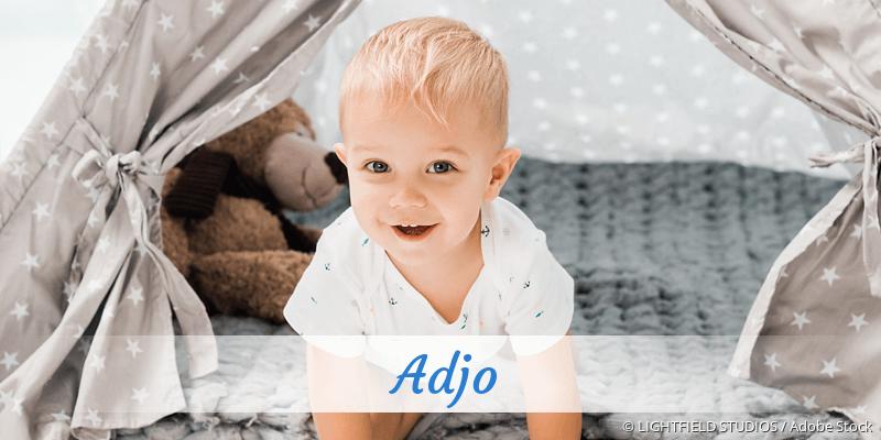 Name Adjo als Bild