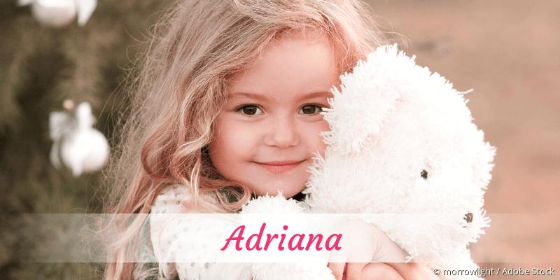 Name Adriana als Bild