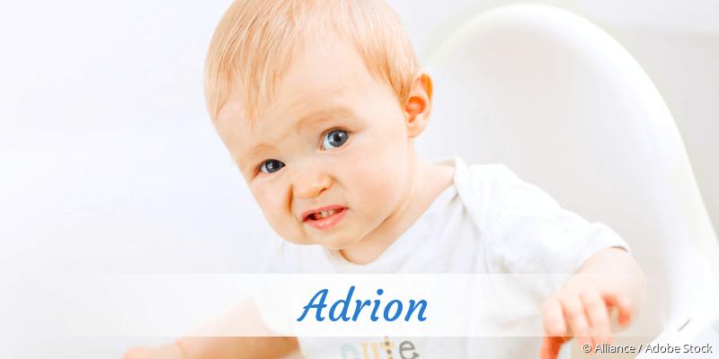 Name Adrion als Bild