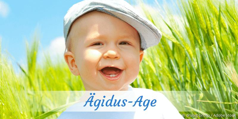 Name Ägidus-Age als Bild