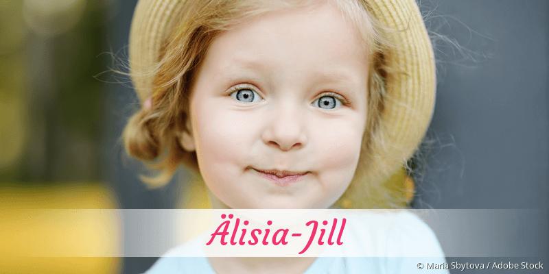 Name Älisia-Jill als Bild