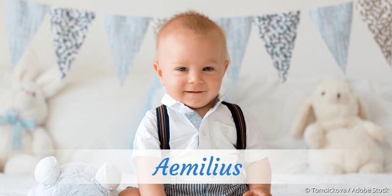Name Aemilius als Bild