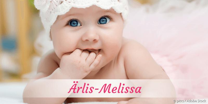 Name Ärlis-Melissa als Bild