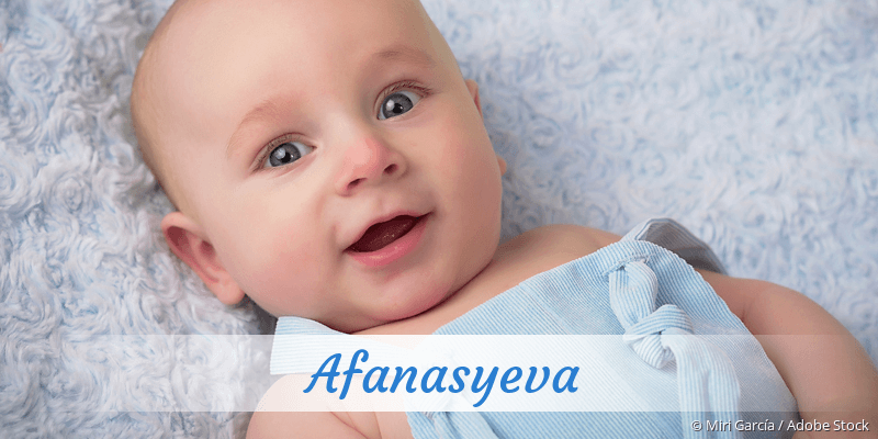 Name Afanasyeva als Bild