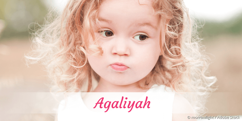 Name Agaliyah als Bild