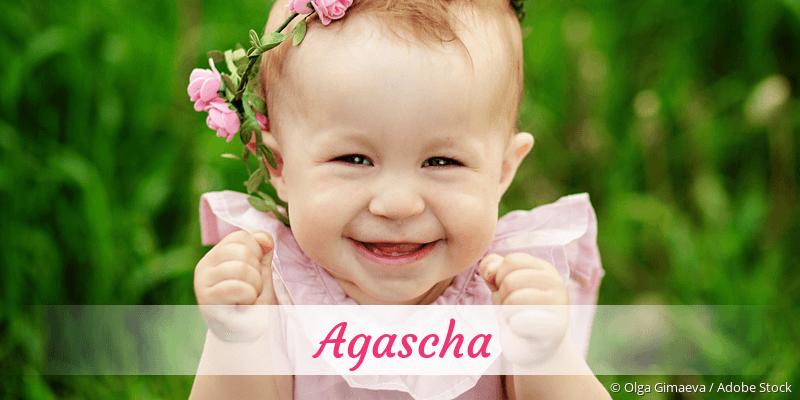 Name Agascha als Bild
