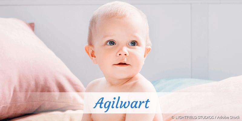 Name Agilwart als Bild