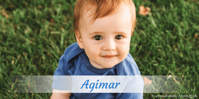 Name Agimar als Bild