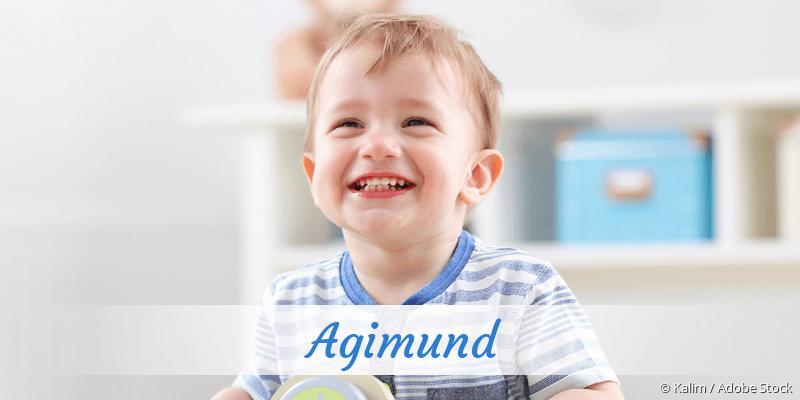 Name Agimund als Bild