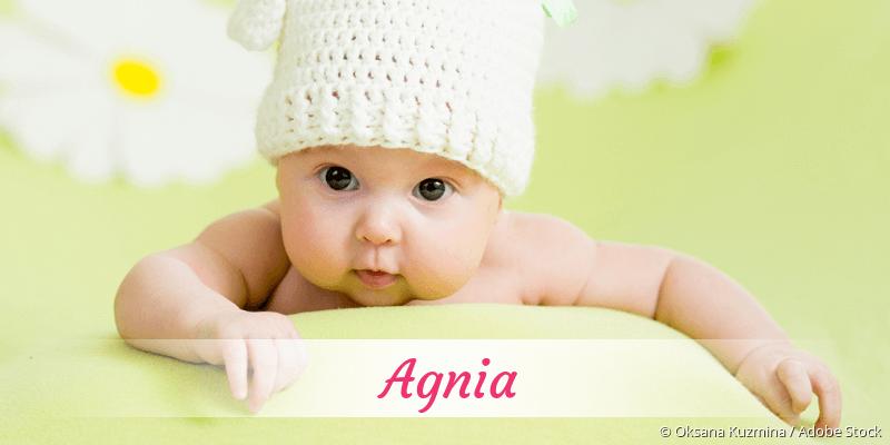 Name Agnia als Bild