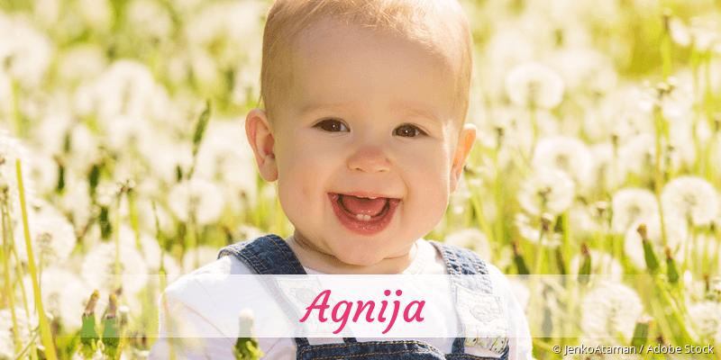 Name Agnija als Bild