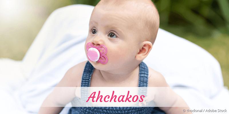 Name Ahchakos als Bild