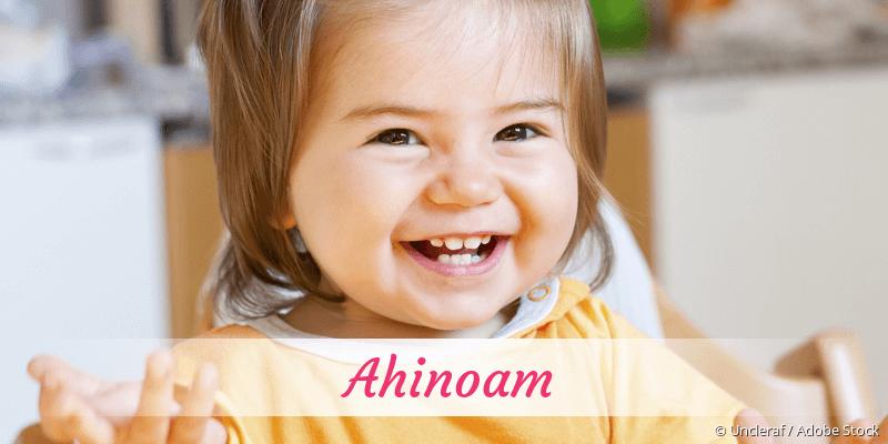 Name Ahinoam als Bild