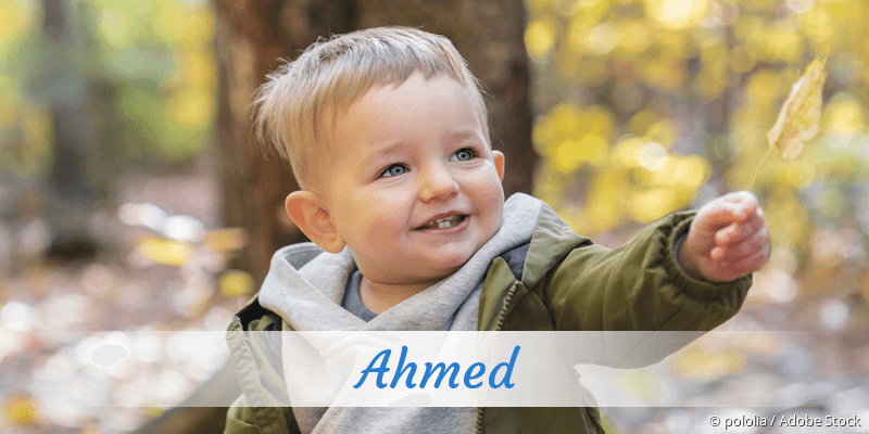 Name Ahmed als Bild