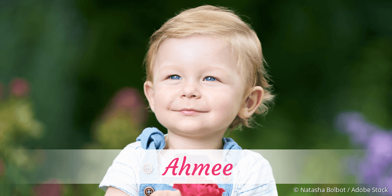 Name Ahmee als Bild