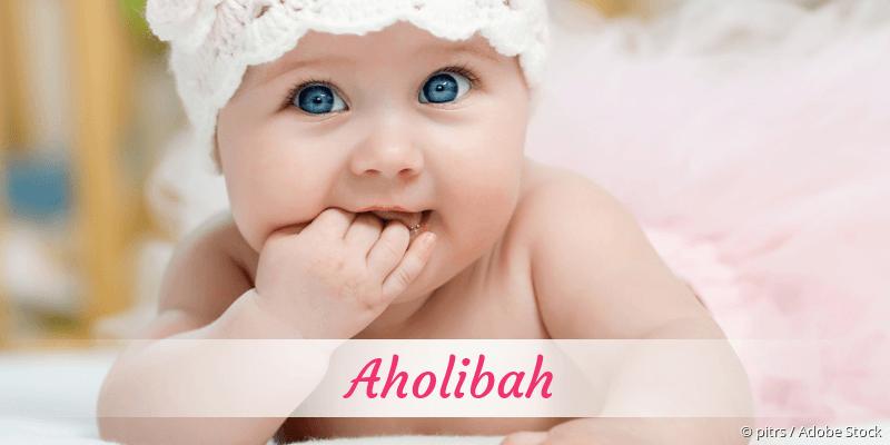 Name Aholibah als Bild