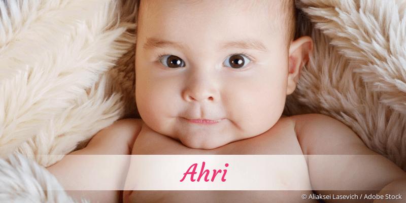 Name Ahri als Bild