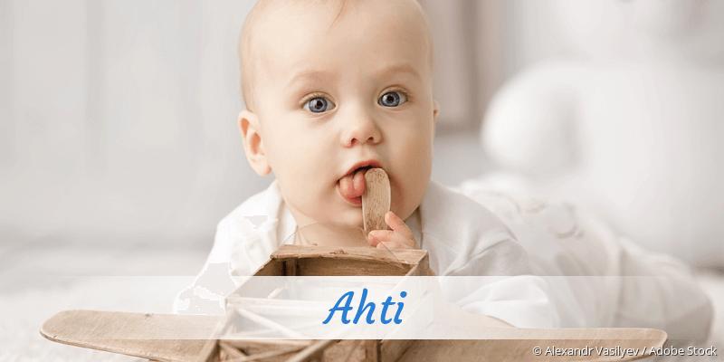 Name Ahti als Bild