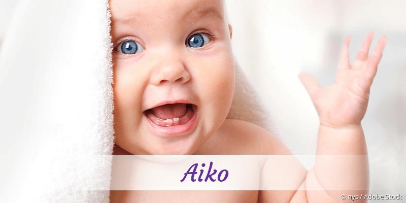 Name Aiko als Bild