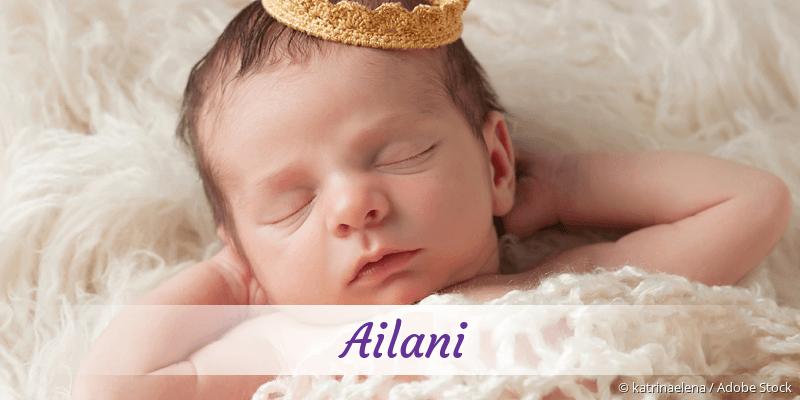 Name Ailani als Bild
