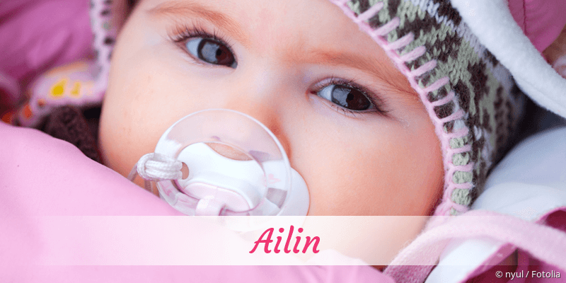 Name Ailin als Bild