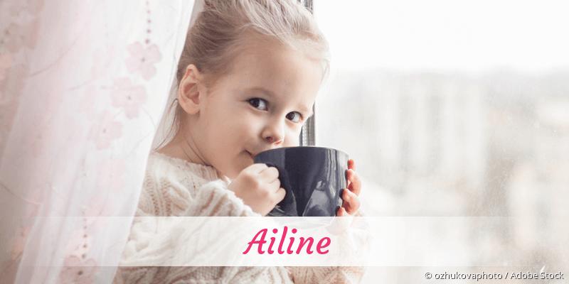 Name Ailine als Bild